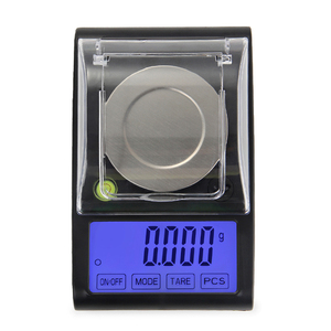 Image 2 - Alta precisão 50g 0.001g equilíbrio de laboratório lcd digital miligrama jóias diamante ouro laboratório escala eletrônico grama contando 0.001