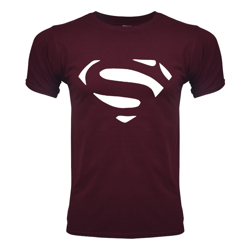 T-shirt Super héros LOGO bande dessinée Superman Batman Captain America le film Flash Marvel hommes Cosplay T-Shirts super héros t-shirt Geek