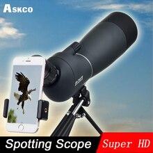 лучшая цена 25-75X70 Zoom Spotting Scope with Tripod Long Range Target Shooting Bird Watching Monocular Telescope HD Optical Glass FMC Lens