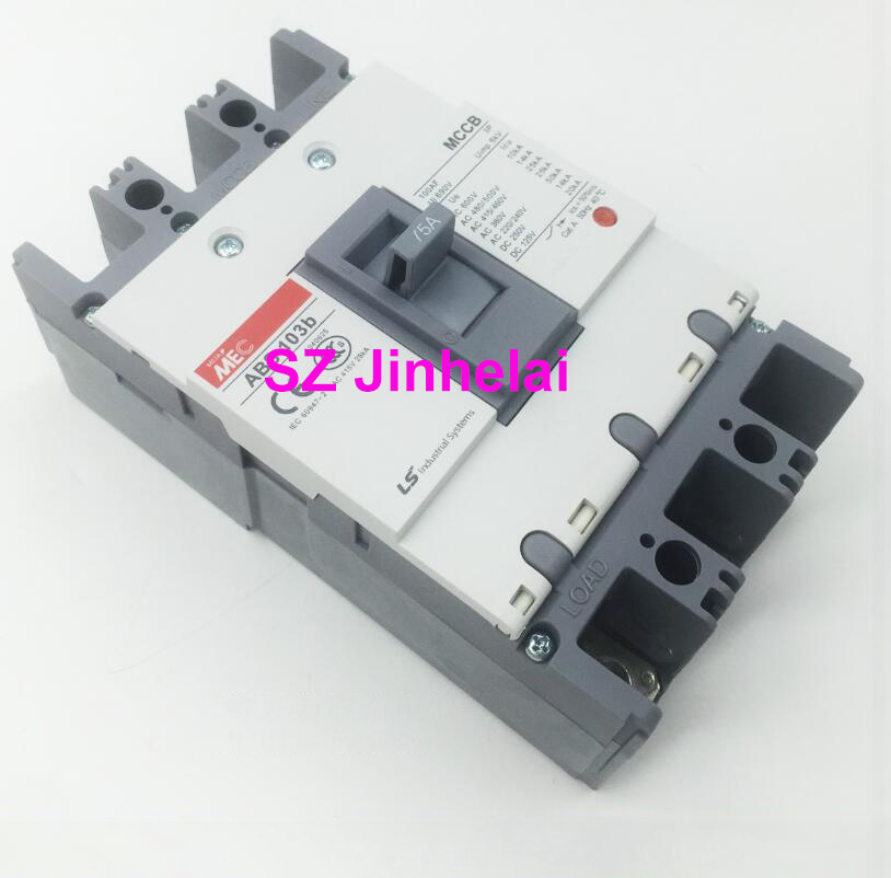 ABH103b Authentic original ABH 103b LS Molded case circuit breaker ABH-103B Air switch 3P 15A цена 2017