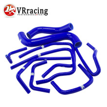 VR RACING – Blue Silicone Radiator Hose Kit for Subaru Impreza GDB GDA 2.0 WRX STI 2000-2009 9PC VR-LX-1803C-BL