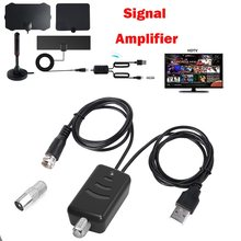 TV Signal Amplifier Booster Convenience And Easy Installtion Digital HD For Cable TV For Fox Antenna HD Channel 25DB(China)