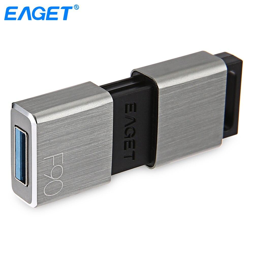 Eaget USB Flash Drive 256 GB Usb 3.0 Haute Vitesse Pendrive 256 GB USB En Métal Disque Flash Drive Étanche Pen drive Mémoire bâton