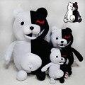 25 см Dangan Ronpa Monokuma Кукла Плюшевые Игрушки Черный и Белый Медведь Розовый и Белый Кролик Высокое Качество Плюшевые Игрушки