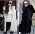 Crazy Discount Women Faux Fur Vest Winter Long Vest Sleeveless Luxury Fur Coat Plus Size Slim Fur Vest