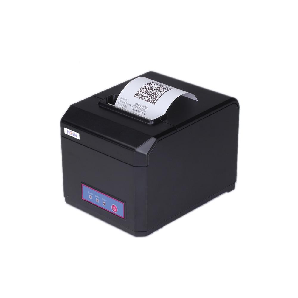 HOP-E801 80MM Thermal Printer Receipt Machine Printing Support Internet+USB+COM Connection barcode Bar code label printers 80mm thermal printer new upgrade quality hprt lpq80 printers pos printer barcode printer