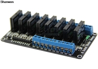 5V 8 Channel Low Level Trigger Solid State Relay Module With Fuse For Arduino 250V2A