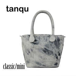 tanqu Fabric Handle with Insert Lining for Obag Classic Mini Short Long Round Denim Canvas Combination for O Bag Women's Handbag