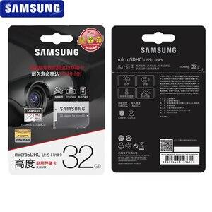 Image 5 - Carte mémoire SAMSUNG Micro SD carte PRO Endurance 100 mo/s 32 go 64 go 128 go SDXC SDHC classe 10 TF carte C10 UHS I carte Flash Trans