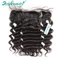 """NEW Free Part Brazilian Hair Lace Frontal Closure Loose Wave 13""""*4"""" With Baby Hair Swiss Lace Shipping Free"""