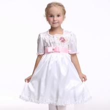 Children Dance Clothing Lovely  Dress Fashion Princess Short Sleeves Cosplay Fancy Costumes EK157