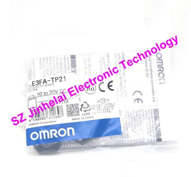 E3FA-TP21 New and original OMRON PHOTOELECTRIC SWITCH 10-30VDC 2M new original photoelectric switch e3t ft11 2m