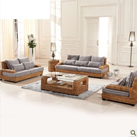 Мода отдыха плетеная из ротанга открытый диван мебель 2016 новый дизайн