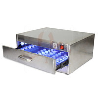 EU no tax! 118W UV Curing Oven UV Curing Box Glue Dryer Lamp with 84 LED lights