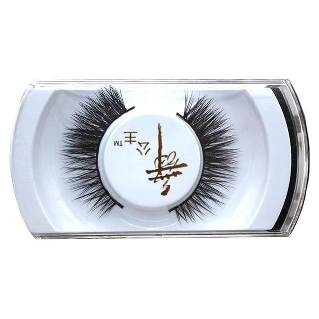 1 Pair False Eyelash Mink Hair Natural Long Fake Eyelashes For Small
