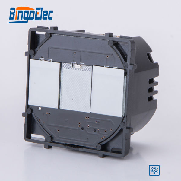 2gang 1way touch dimmer electric switch function part, 700W switch ,no switch panel,EU/UK standard ,Hot sale декаль waffen ss uniform insignia part no 2 nordland division
