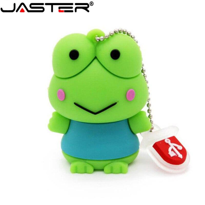 Cartoon Usb Flash Drive Gifts Frog Animal Cartoon Pen Drive 128mb 4gb 8gb 16gb 32gb 64gb Pendrive Memory Stick U Disk