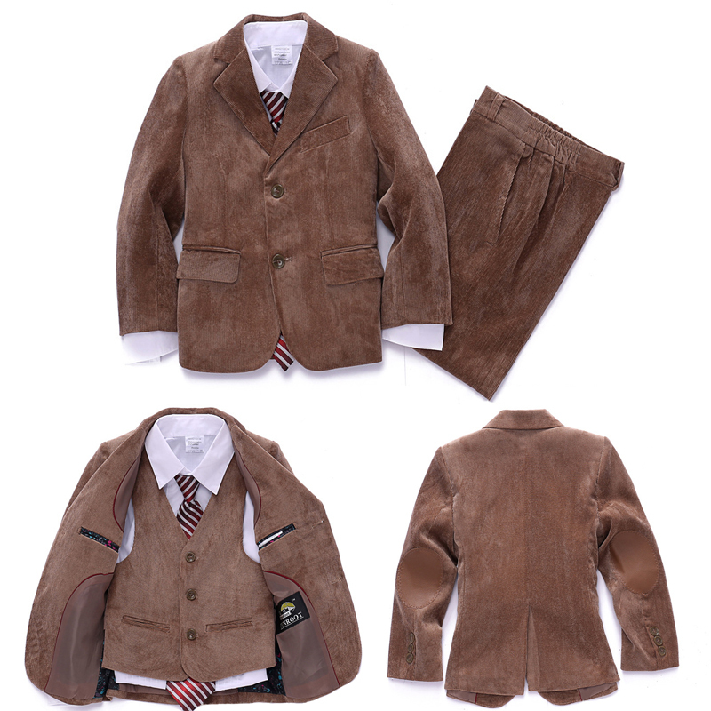 Aliexpress.com : Buy Corduroy Blazer jacket set for Baby boys ...