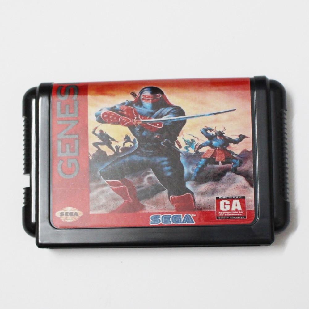 Shinobi 3 16 bit MD Game Card For Sega Mega Drive For Genesis
