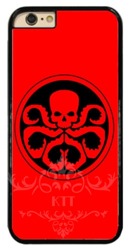 Agents Of Shield Hydra Logo cell phone bags case cover for iphone 4S 5S 5C SE 6S 7 PLUS Samsung S4 S5 S6 S7 note IPOD Touch 4 5