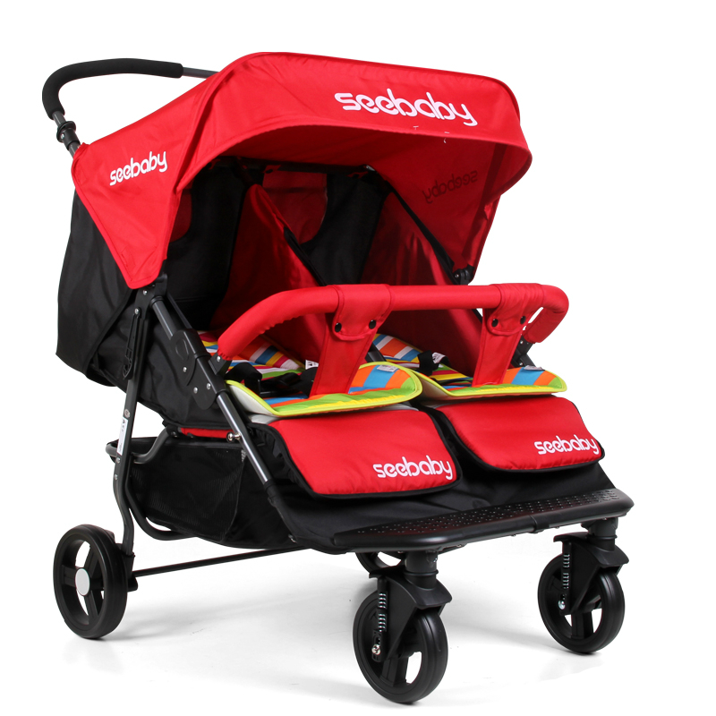 Luxury Double Pushchair Popular Twins Stroller Buy Cheap Twins Stroller Lots From