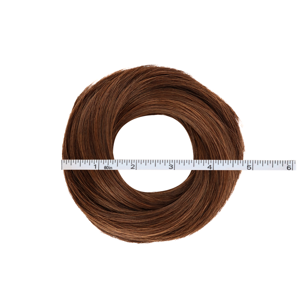 Livre beleza donut chignon marrom loiro avelã