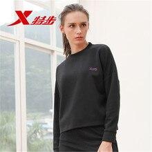 882128059106 XTEP Women hoodies sweaters running Fitness Hoodies Training Loose Sweatshirts sportwear