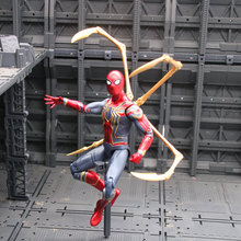 2019 New Marvel Toys Avengers Infinite War3 Spiderman PVC Action Figure Superhero Figures Spider-man Collectible Model Dolls Toy