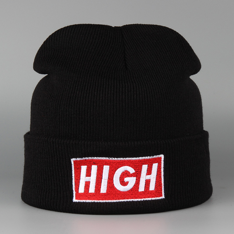 2016 High Quality Hats New Winter Beanies For Women Men Cap Fashion Toucas Acrylic Knitted Unisex Black Pink White Color Gorro taya taya ta980dwihw33
