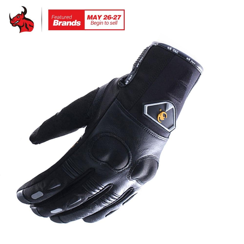 XUEYU Genuine Leather <font><b>Motorcycle</b></font> Racing <font><b>Gloves</b></font> Motorbike Street <font><b>Bike</b></font> <font><b>Full</b></font> <font><b>Finger</b></font> <font><b>Protective</b></font> Luva Enduro Road Moto Riding Guantes