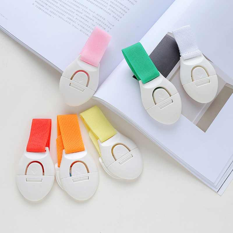Child Safety Strap Locks Plastic Hasps Strong Adhesive Child Proof Latches For Cabinet Door Drawer