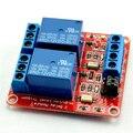 12 V 2-channel módulo de relé com acoplamento óptico isolamento suporte alto e baixo nível de disparo 12 V 2 relé Canal