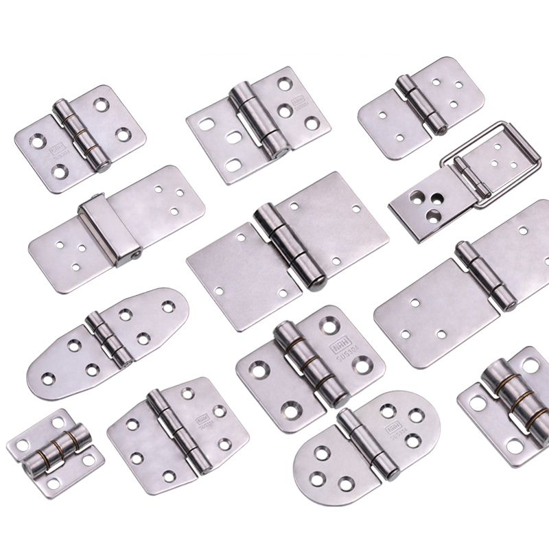 Stainless Steel Cabinet Hinge Electric Box Hinge Industrial Equipment SS304 Chassis MINI Door Drawer Hinge