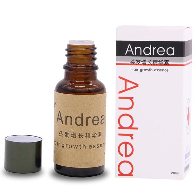 Оригинальный быстро солнечные лучи Andrea быстрый рост волос pilatory суть человеческого волоса масла облысения против выпадения волос недействительным возврат облысения