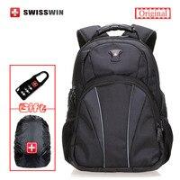 Swisswin Brand Laptop Backpack Male 13 14 15 6 Male Swiss Waterproof Men S Business Travel