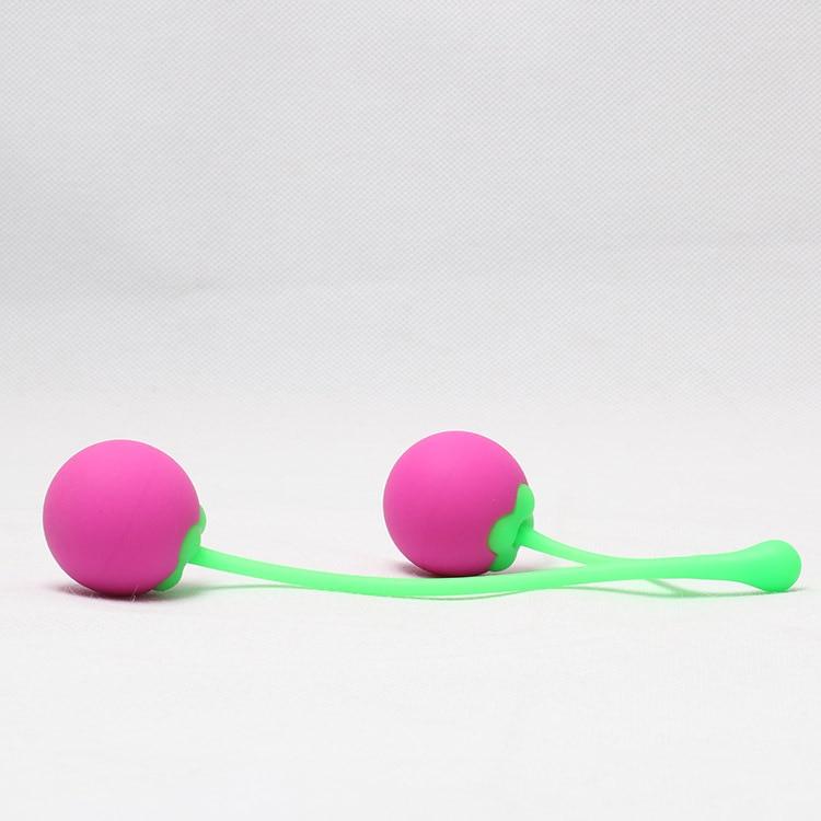 Вагинальные шарики в форме двойной вишни
