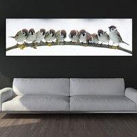 Картина на холсте, Художественная печать птиц, Настенная картина, холст и постеры, картина на стену, художественная живопись, украшение для ...