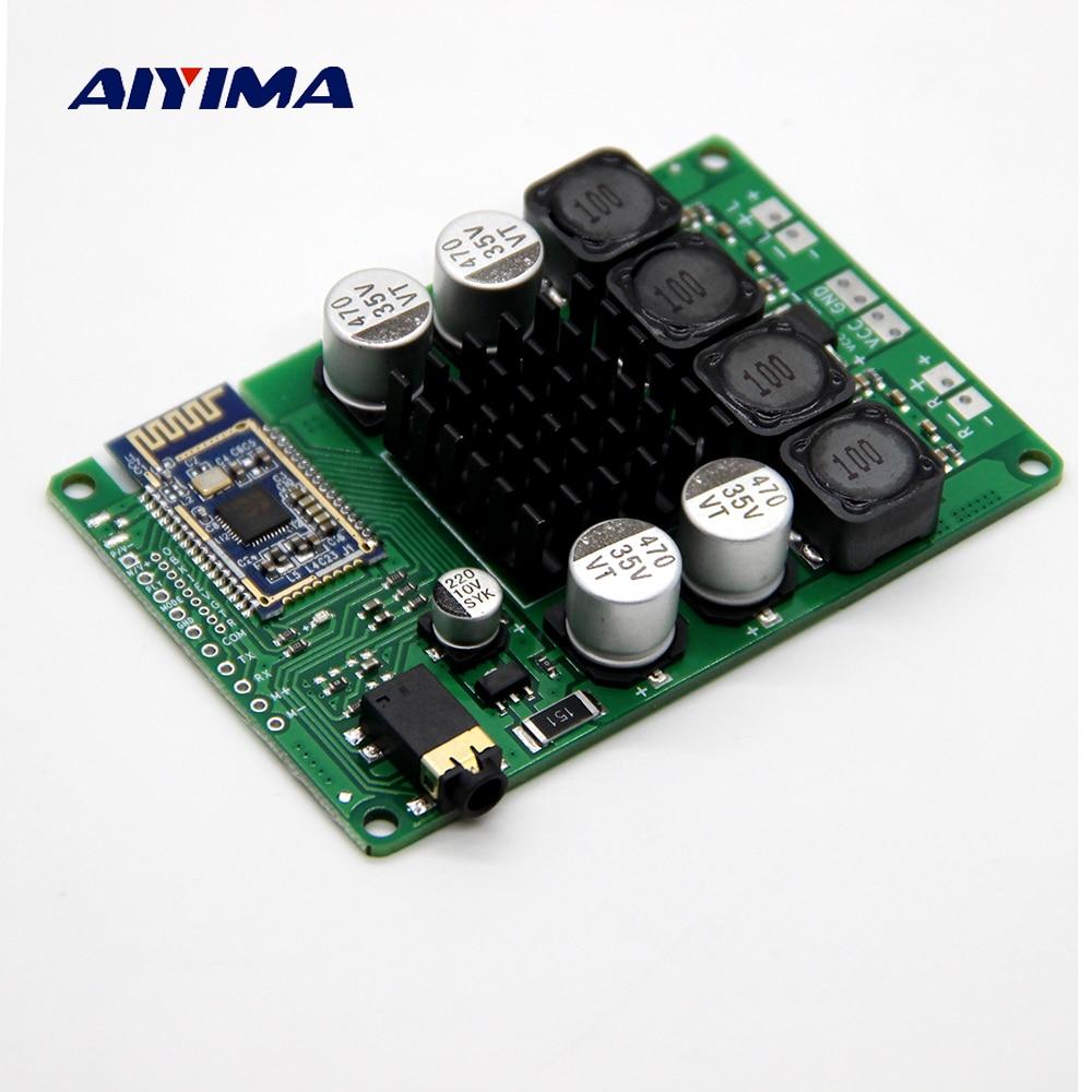 Aiyima Bluetooth Verstärker Bord Tpa3116 Verstärker 2*50 W Bluetooth 5,0 Empfänger Unterstützung Aux Seriellen Befehl Ändern Name Passwort Angenehm Im Nachgeschmack Heim-audio & Video Unterhaltungselektronik
