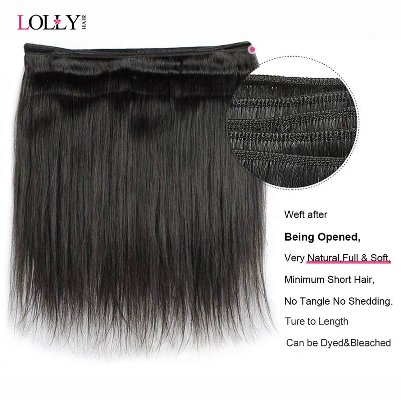 Lolly Straight Hair Bundles With Closure Brazilian Hair Weave Bundles With Closure Human Hair Bundles With Lolly Straight Hair Bundles With Closure Brazilian Hair Weave Bundles With Closure Human Hair Bundles With Closure Remy Hair