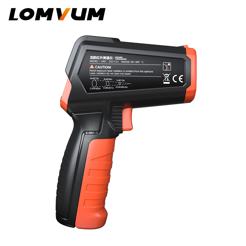 Image 5 - LOMVUM Digital Infrared Thermometer Non Contact Temperature Gun 