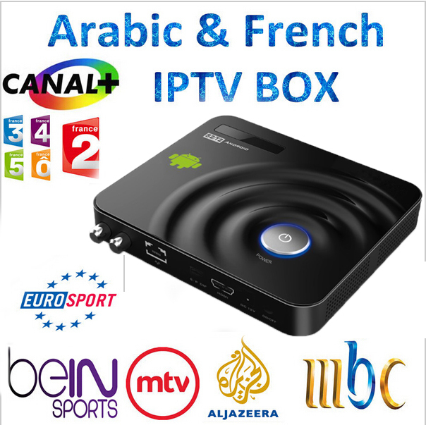 GOTiT Y1 QHDTV Iphone Ipad Suppor Android DVB-S2 Europe IPTV Arabic Box French German UK Italy SkySports CCCAM DVB S2 Receiver