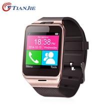 SmartWatch Gv18 Bluetooth здоровья Mp3 Водонепроницаемый шагомер Носимых устройств с sim-карты Мобильный GSM Android Смарт-часы-телефон