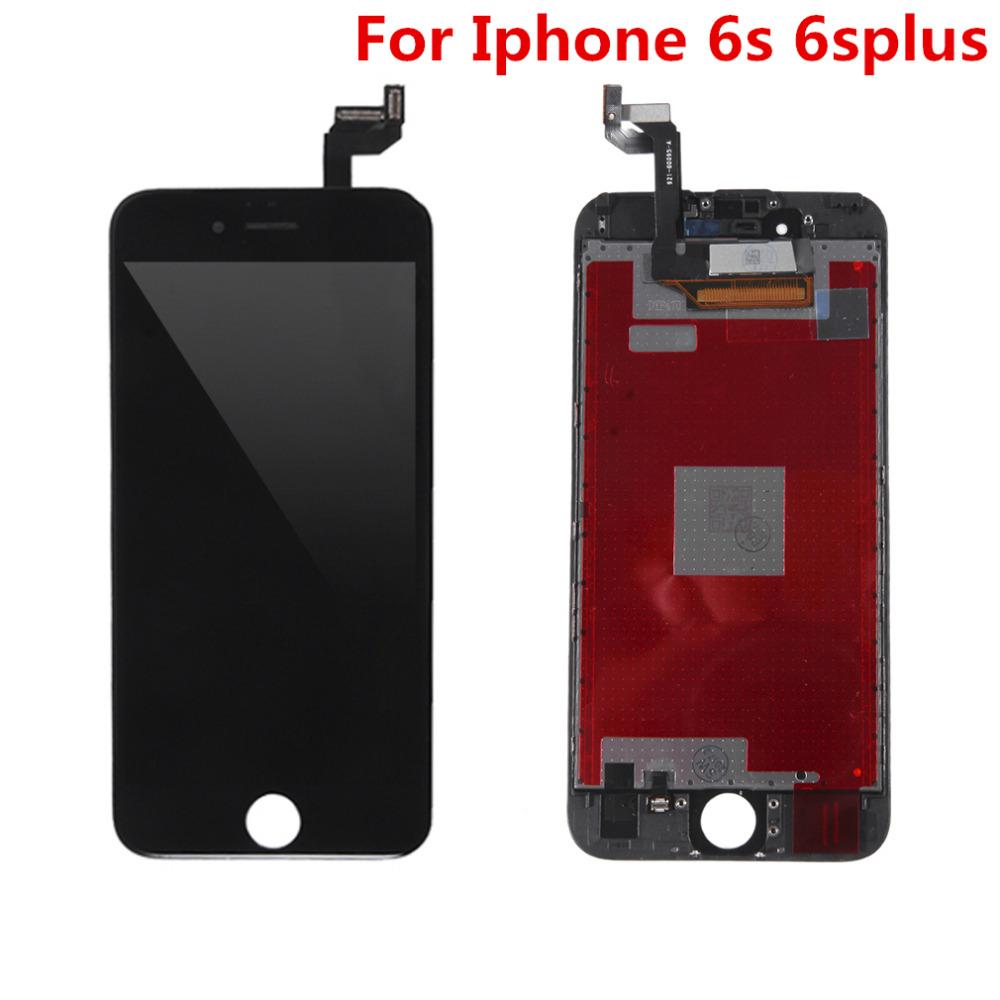 Prix pour Haute qualité lcd de remplacement écran pour iphone 6s 6 splus avec digitizer assemblée d'affichage outil pour iphone 6 splus
