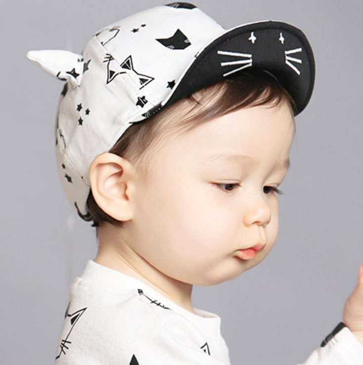 1 Piece Lytwtw's Cute Summer Newborn Baby Hat GirlS BoyS Baseball Cap Infant Cotton Unisex Toddlers Sun 2017 hot sale fashion embroidery cotton baseball cap boys girls snapback hip hop leisure flat unisex hats f273