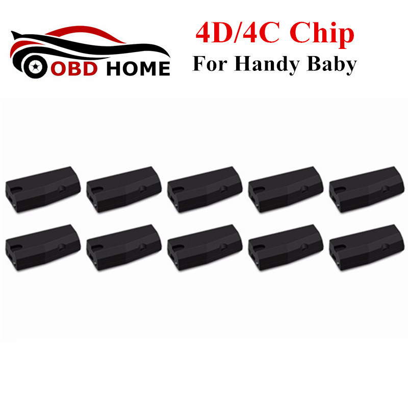 10PCS/LOT 4D/4C Chip For Handy Baby Hand-held Car Key Copy Auto Key Programmer 4D 4C Chip Fast Shipping