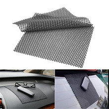 2PCS High Quality Car Dashboard Anti Slip Sticky Premium Mat For Phone GPS Cards Black PVC Foam Non slip Pad Accessories 22*19cm
