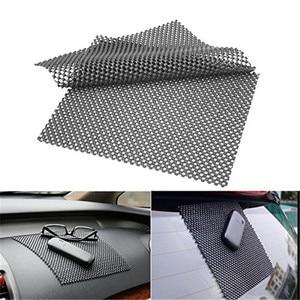 Image 1 - 2PCS High Quality Car Dashboard Anti Slip Sticky Premium Mat For Phone GPS Cards Black PVC Foam Non slip Pad Accessories 22*19cm