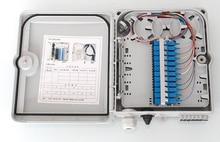 Оптоволоконная распределительная коробка FTTH с 12 жилами с адаптером 12 шт.