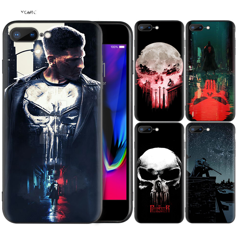 Silicone Case Shell Coque for iPhone 7 8 6 6S Plus X XS MAX XR 5C