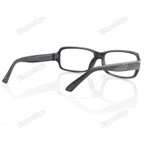 exportage New Unisex Fashion Black Frame Eyeglasses ...